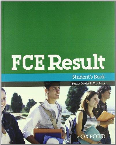 9780194801508: FCE result. Student's book-Workbook. With key. Per le Scuole superiori. Con Multi-ROM