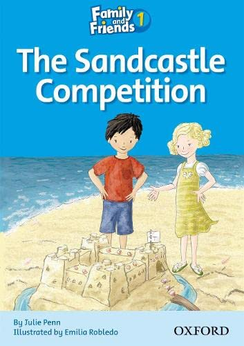 9780194802536: Family and Friends Readers 1: The Sandcastle Competition