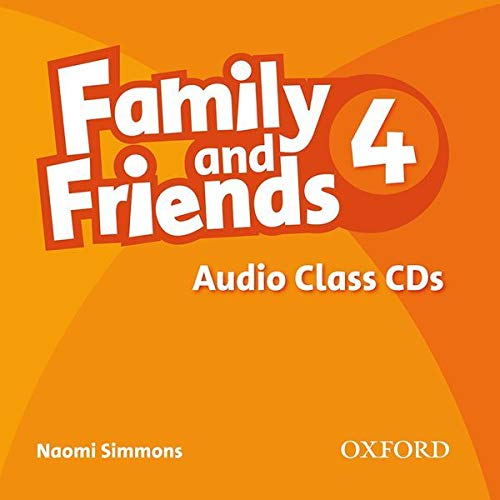 9780194802765: Family and Friends: 4: Class Audio CD