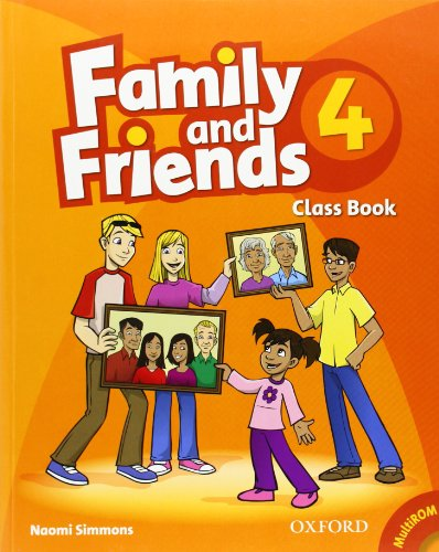9780194802789: Family and Friends: 4: Class Book and MultiROM Pack
