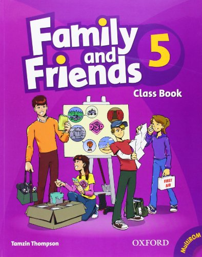 9780194802949: Family and Friends: 5: Class Book and MultiROM Pack