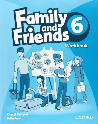 9780194803038: Family and Friends: 6: Workbook