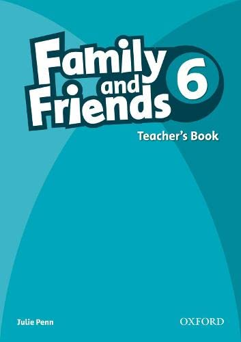 9780194803052: Family and Friends 6: Teachers Book6