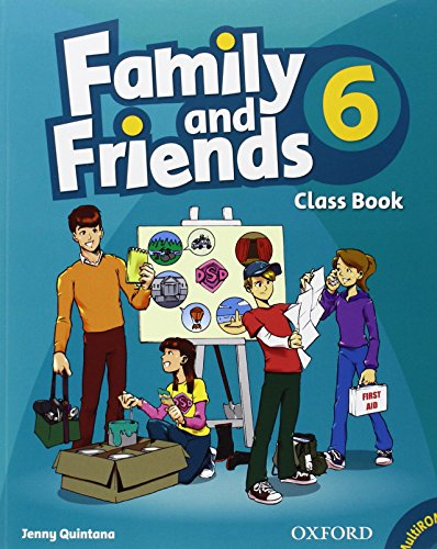 9780194803090: Family and Friends: 6: Class Book and MultiROM Pack