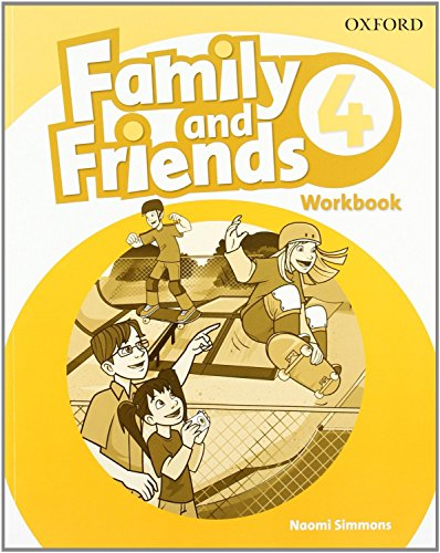 9780194803229: Family & Friends 4: Workbook (Family & Friends First Edition)