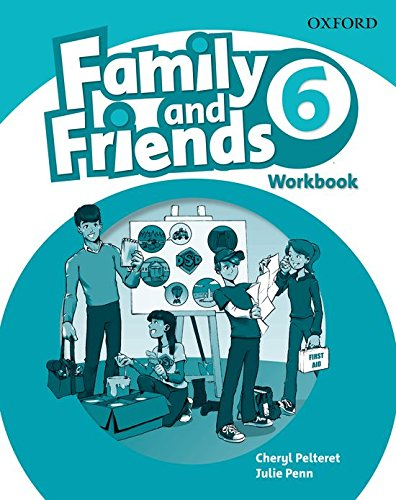 9780194803243: Family & Friends 6: Workbook (Family & Friends First Edition)