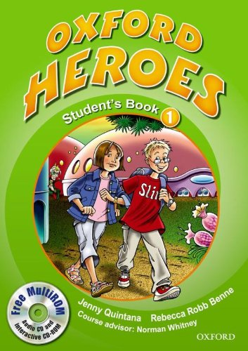 9780194806008: Oxford Heroes 1: Student's Book and MultiROM Pack