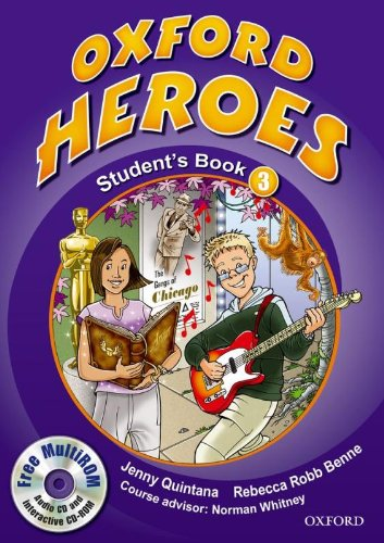 9780194806022: Oxford Heroes 3: Student's Book and MultiROM Pack