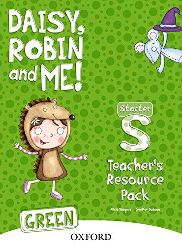 9780194806718: Daisy, Robin and Me Starter, Teacher's Resouce Pack