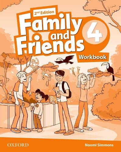 9780194808088: Family and Friends 4 : Workbook