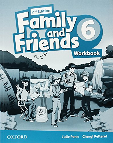 9780194808125: Family and Friends: Level 6: Workbook