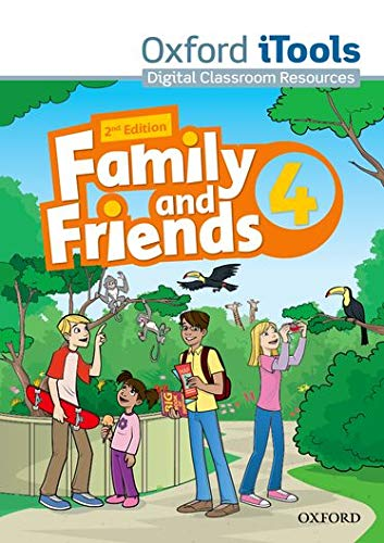 9780194808187: Family and Friends: Level 4: iTools