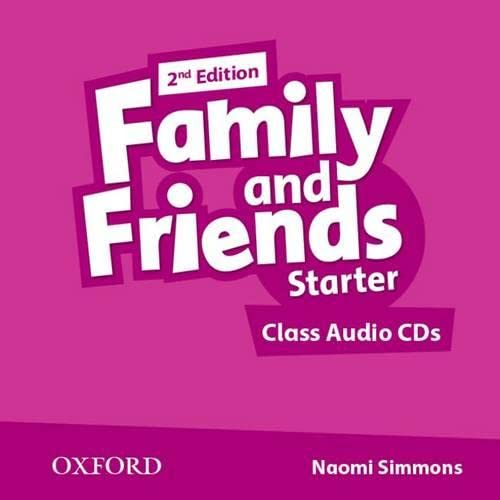 9780194808217: Family and Friends: Family & Friends Starter: Class CD 2ª Edición (2) (Family & Friends Second Edition)