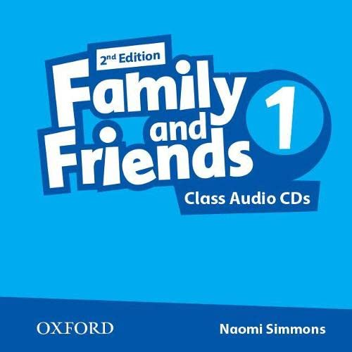 9780194808224: Family and Friends: Family & Friends. Vol. I. Con Class Audio CD