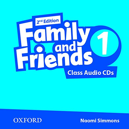 9780194808224: Family and Friends: Level 1: Class Audio CDs