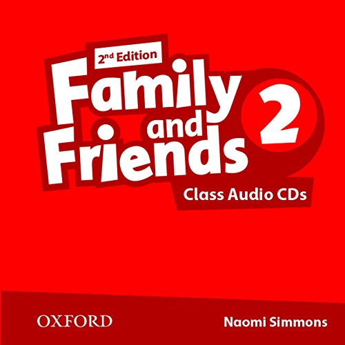 9780194808231: Family and Friends: Level 2: Class Audio CD (2 Discs)