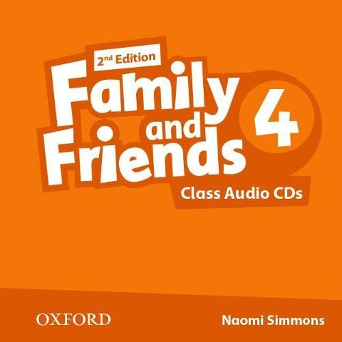 9780194808255: Family and Friends: Level 4: Class Audio CDs