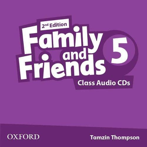 9780194808262: Family and Friends: Level 5: Class Audio CDs