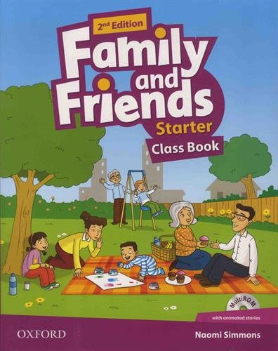 9780194808286: Family and Friends: Starter: Class Book with Student MultiROM