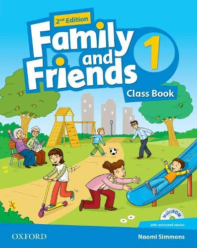 9780194808293: Family and Friends: Level 1: Class Book with Student MultiROM
