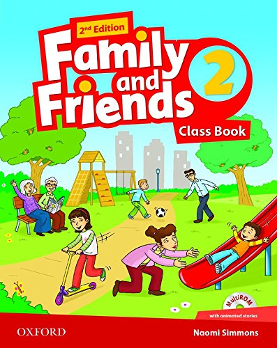 9780194808309: Family and Friends: Level 2: Class Book and MultiROM Pack