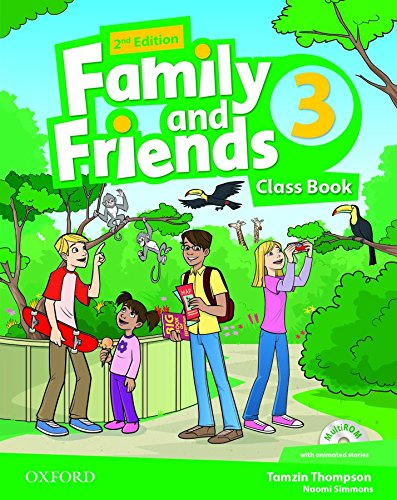 9780194808316: Family and Friends: Level 3: Class Book and MultiROM Pack