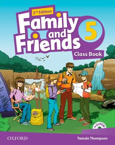 9780194808330: Family and Friends: Level 5: Class Book with Student MultiROM