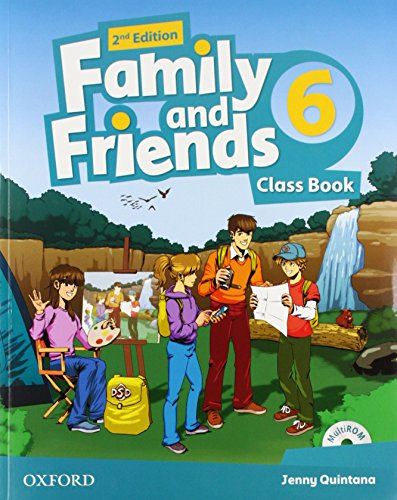 9780194808347: Family and Friends: Level 6: Class Book with Student MultiROM