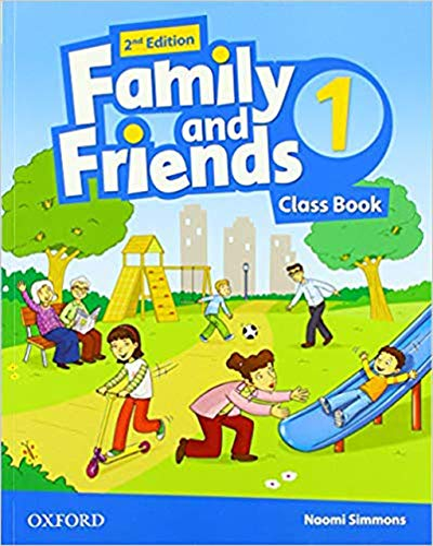FAMILY & FRIENDS 2E 1 CLASS BK