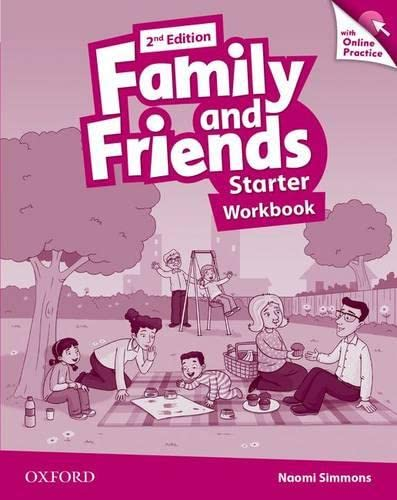 9780194808613: Family and Friends: Starter: Workbook with Online Practice