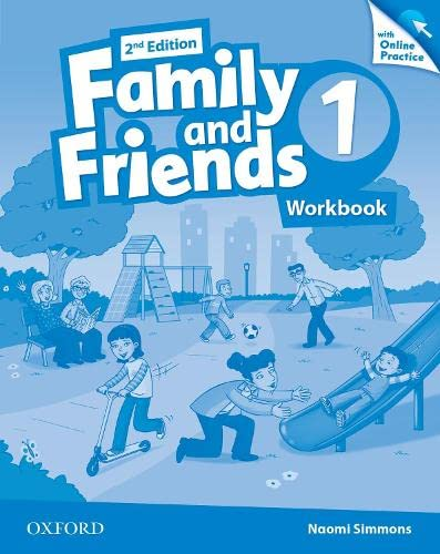 9780194808620: Family and Friends: Level 1: Workbook with Online Practice