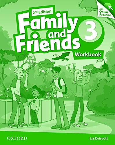 9780194808644: Family and Friends: Level 3: Workbook with Online Practice
