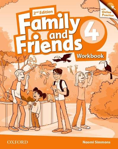 9780194808651: Family and Friends: Level 4: Workbook with Online Practice