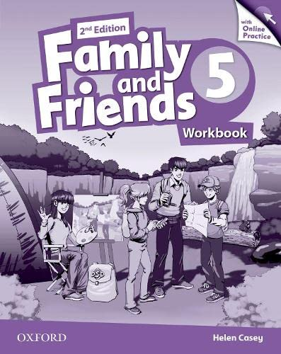 9780194808668: Family and Friends: Level 5: Workbook with Online Practice