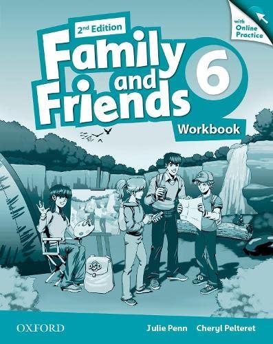 FAMILY & FRIENDS WB-OL PRAC LEVEL 6