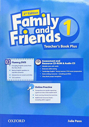 9780194808835: Family and Friends: Level 1: Teacher's Book Plus