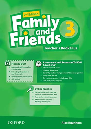 9780194808859: Family and Friends: Level 3: Teacher's Book Plus