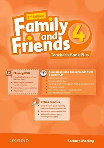 9780194808866: Family and Friends: Level 4: Teacher's Book Plus