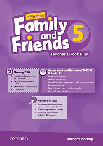 9780194808873: Family and Friends: Level 5: Teacher's Book Plus