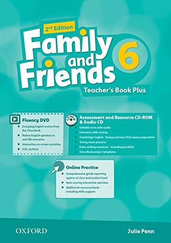 9780194808880: Family and Friends: Level 6: Teacher's Book Pack
