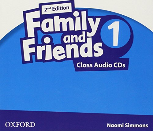9780194811125: (CD).FAMILY AND FRIENDS 1 CLASS CD 2ªED.