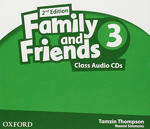 9780194811354: Family & Friends 3: Class CD 2� Edici�n (2) (Family & Friends Second Edition)