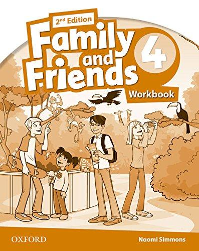 9780194811446: Family & Friends 4. Activity Book - 2ª Edición (Family & Friends Second Edition)