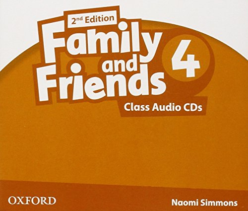 9780194811460: Family & Friends 4: Class CD 2� Edici�n (2) (Family & Friends Second Edition)