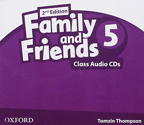 9780194811576: Family & Friends 5: Class CD 2� Edici�n (2) (Family & Friends Second Edition)
