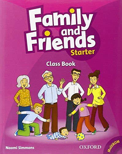 9780194811972: Family and Friends: Starter: Class Book plus Student  Multi-ROM