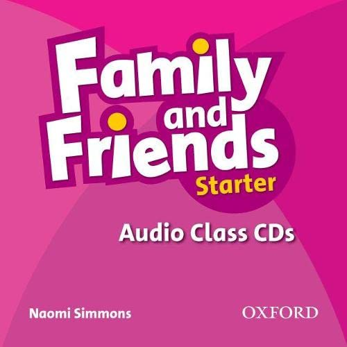 9780194811989: Family and Friends: Starter: Audio Class CD (2 Discs)