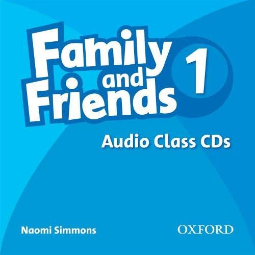 9780194812054: Family and Friends: 1: Class Audio CDs