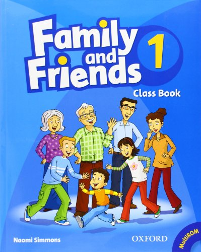 9780194812078: Family and Friends: 1: Class Book and MultiROM Pack