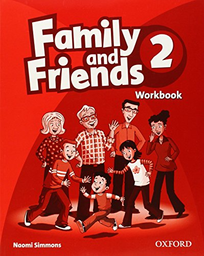 9780194812139: Family and Friends 2: Workbook